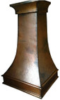 signature copper range hood tall