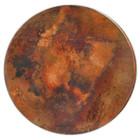 "round 48"" copper tabletop sale"