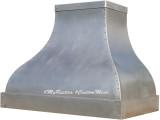 french zinc range hood