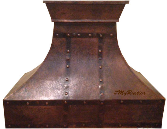 made to order copper range hood