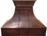 made to order copper range hood