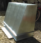 zinc range hood side view