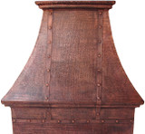 custom copper kitchen hood