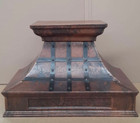 recirculating copper range hood on sale for a kitchen