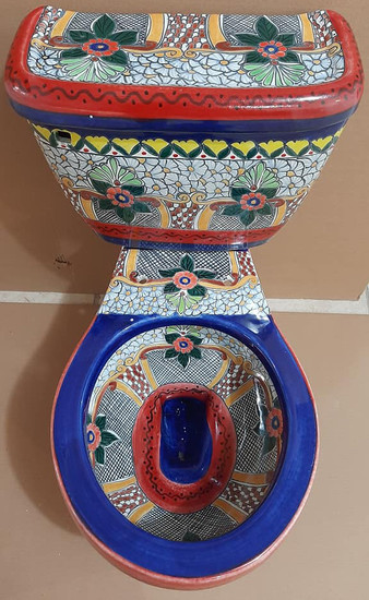 mexican classic toilet