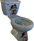 produced mexican rustic toilet