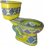 mexican artistic toilet