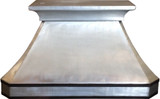 zinc metal kitchen hood