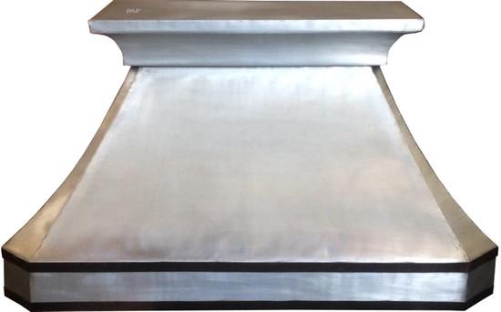 zinc metal kitchen hood