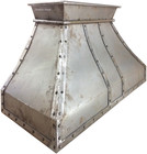 iron stove hood natural metal