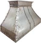 iron stove hood natural metal