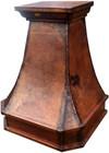 """30"""" copper range hood rustic finish"""
