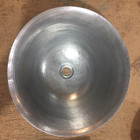 zinc vessel sink top view