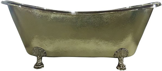 freestanding copper tub