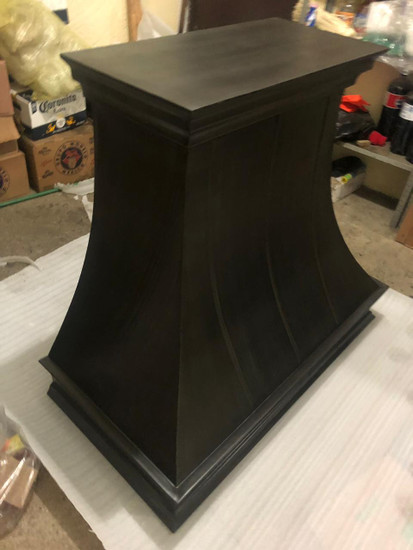 black metal zinc range hood sale