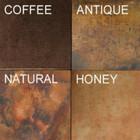 colored copper range hood patina options