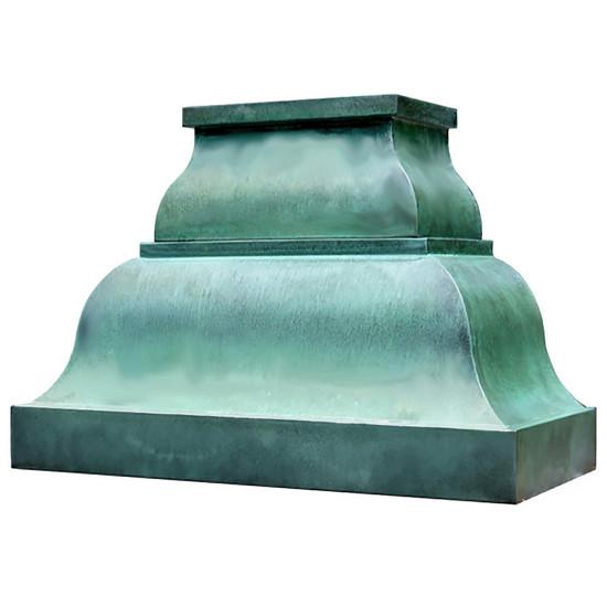 farmhouse copper range hood