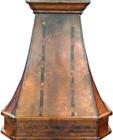 copper range hood canada