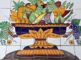 Fruit Bowl Tile Mural for Kitchen on Sale