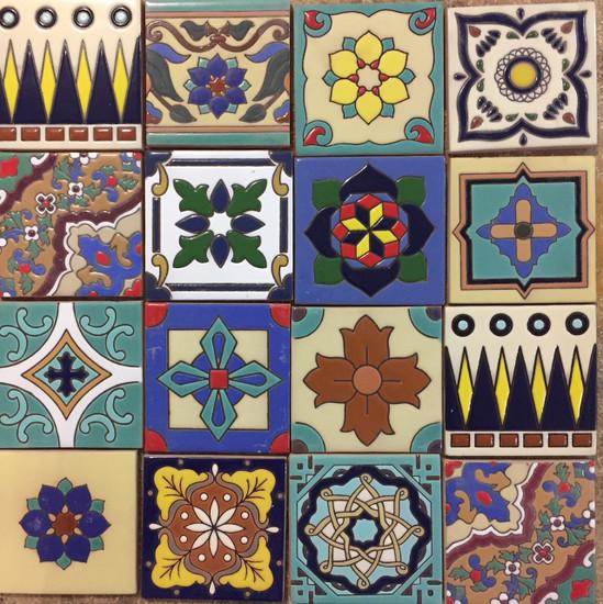 ceramic relief tiles on sale