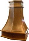 home copper range hood kitche  depot