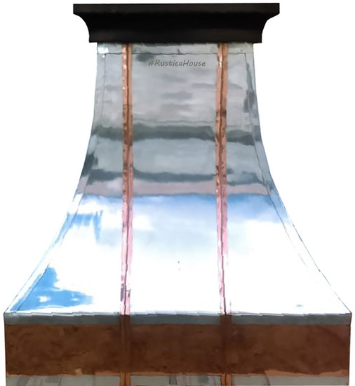 decorative zinc range hood