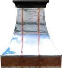 decorative zinc range hood