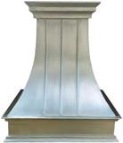 handcrafted metal zinc range hood