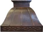 recirculating copper range hood