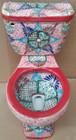 mexican dallas design toilet front view