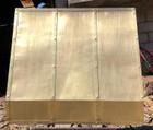 wall mount kitchen brass range hood discounted price