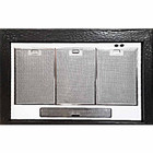 discount zinc range hood vent insert with light and filters