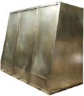 best brass range hood