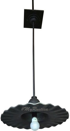 ceiling industrial bronze lamp