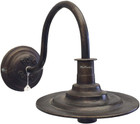 decorative wall bronze lamp