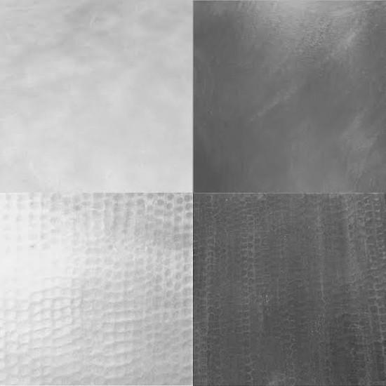 rustica zinc metal samples