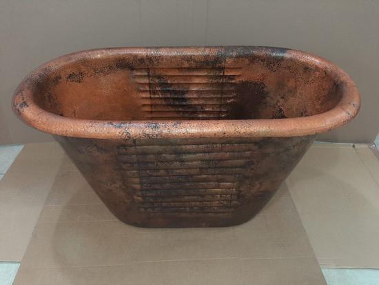 small copper bathtub sale