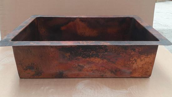 drop in undermount copper kitchen sink sale