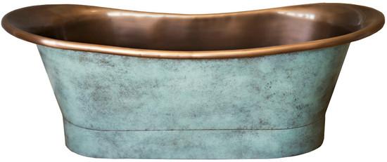 old country copper bathtub