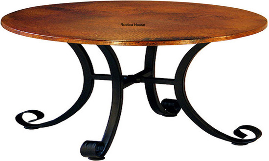 traditional copper table