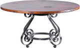 rustic decor copper table