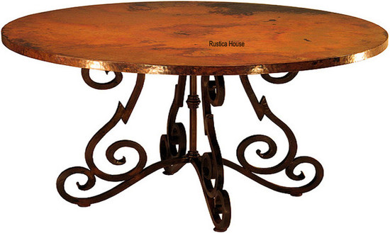 european copper table