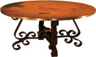 colonial copper table