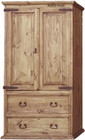 mexican two door armoire