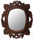 hacienda wood mirror