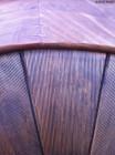 wooden headboard 70s