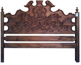 hacienda wood headboard