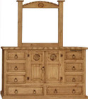 mexican dresser with mirror