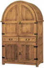 mexican rustic wooden armoire
