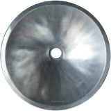 round pewter bath sink
